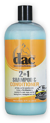 dac® Bright+ Accent Shampoo and dac® Medicated Shampoo